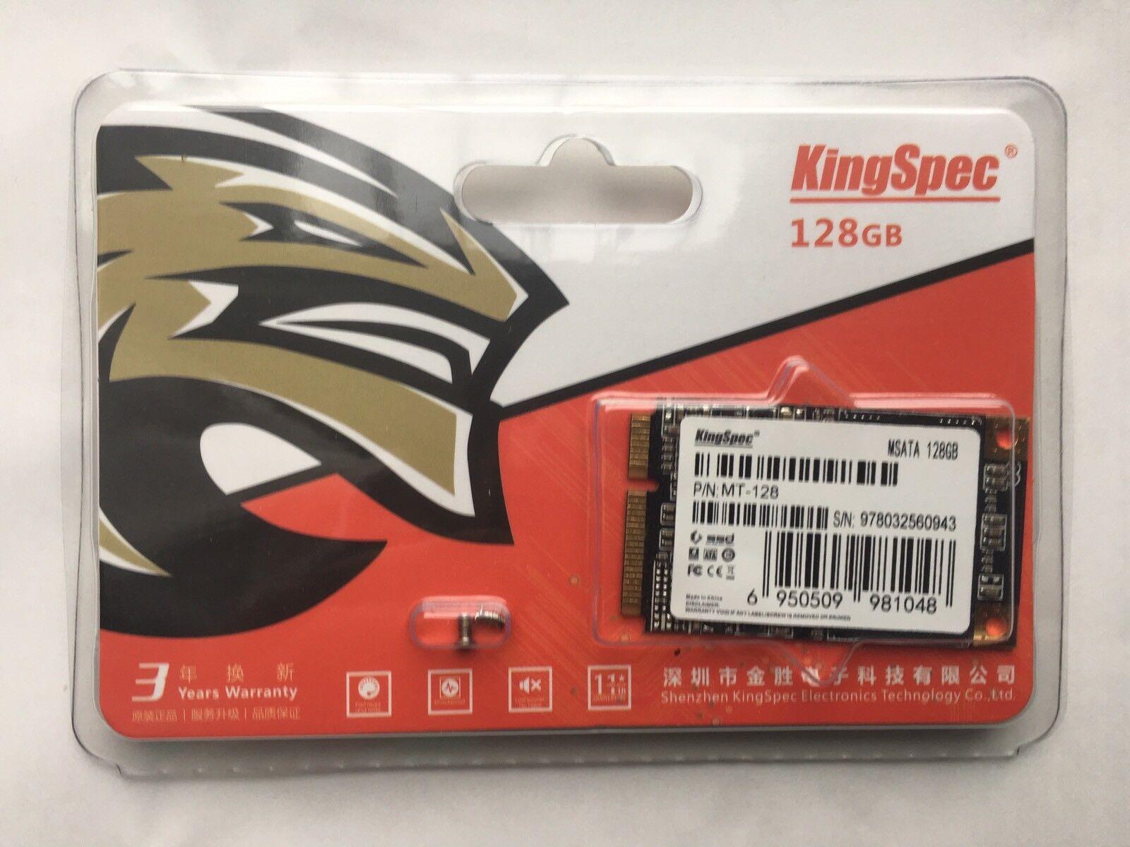 KingSpec 128GB mSATA Internal SSD Laptop notebook desktop  industrial interface