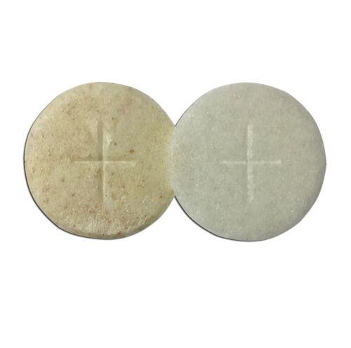 "Peoples Communion Wafers Church Altar Bread 1 1//8/"" Single Cross Sealed Edge"