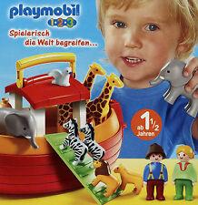 Prospekt Playmobil 1-2-3 1/10 2010 Broschüre 16 S. Spielzeug Spielwaren Katalog