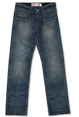 91H514  D71 Slim Fit,14H 33WX28L, Straight Leg Levi/'s Boys/' Straight 514