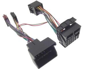 Pappagallo-Thb-Adattatore-Bmw-Quadlock-Bluetooth-Radio-Spina-Iso-Cablaggio-Fse