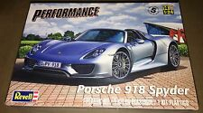 Revell Porsche 918 Spyder 1/24 scale model car kit new 4329