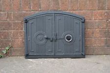 42 X 27cm Cast Iron Fire Door Clay Pizza Stove Smoke House Dz059 High Quality Bread Oven