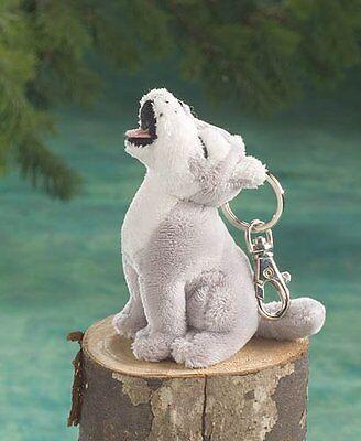 Howling Wolf Keychain Stuffed Animals & Teddy Bear Plush Animal Toy