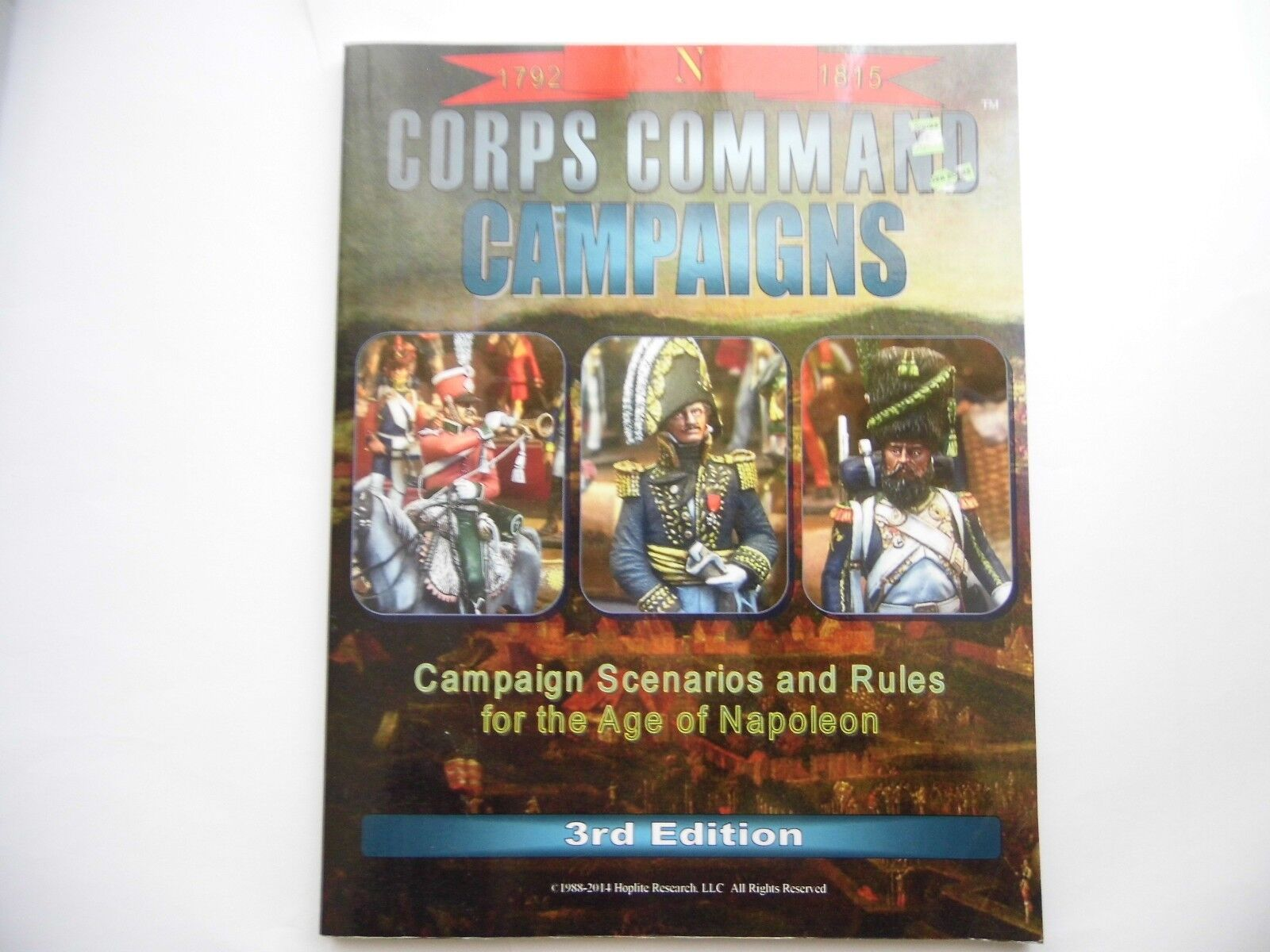 CORPS COMMAND CAMPAIGNS - 3RD EDITION - WARGAMES RULES - NEW