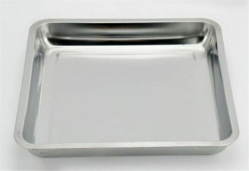 Storage Plate Trays Steamed Grilled Bbq Fish Dish Square Food Meats Thick Pans