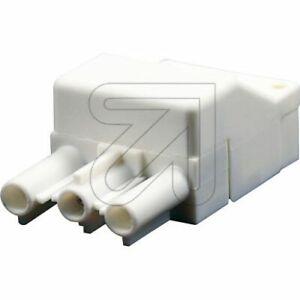 Pratique Montage Rapide Connecteurs Steckerteil 230 V/16 A Blanc Pour Leuchtenverdrahtun-htun Fr-fr Afficher Le Titre D'origine Haute RéSilience