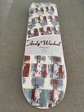 Andy Warhol Alien Workshop Series II 2011 Jason Dill Statue Liberty Skateboard