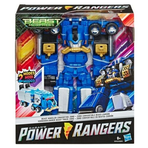 Power Rangers Beast Morphers Beast Wheeler Conversion Zord nouveau