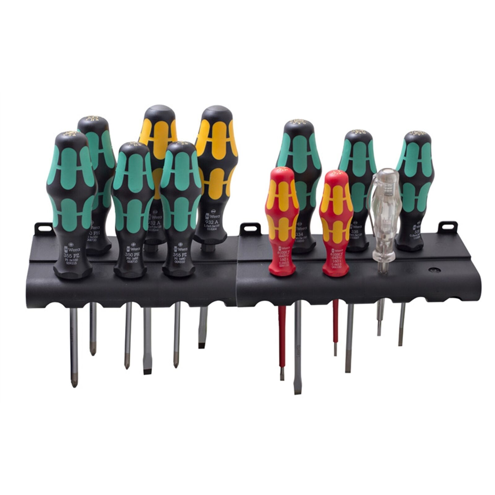Wera Kraftform XXL SCREWDRIVER SET WERA051010 12Pieces, Laser Tip German Brand