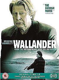 Wallander - Original Films 1-6 [DVD] New UNSEALED MINOR BOX WEAR