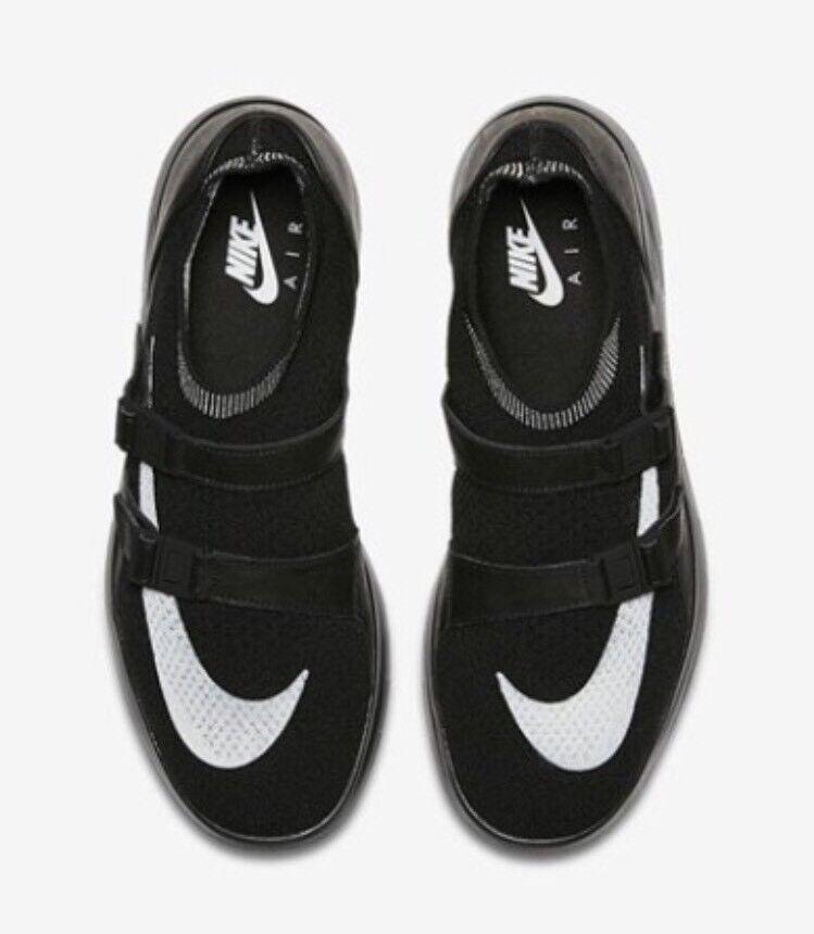 Nikelab aria sock racer ultra flyknit Uomo bianco sz 9 scarpe bianco Uomo nero 904580-001 nike 93bc9f