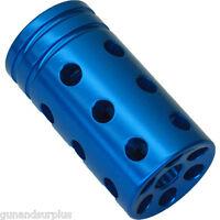 Ruger 10/22 Muzzle Brake Compensator Threaded 1/2-28 Tpi 1022 Blue