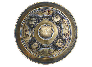 orient-islamische-Messing-Kampfschild-Afghanistan-antique-Afghan-Brass-shield-J