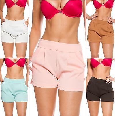 Women's Pleated Trouser Shorts - S / M / L / XL