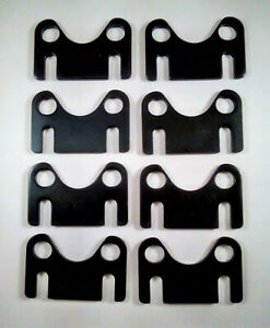 """fits Ford SB 289 302 351 Windsor Flat Guide Plates 5//16/"""" P//Rod- 7//16/"""" S//H - 2Pc"""