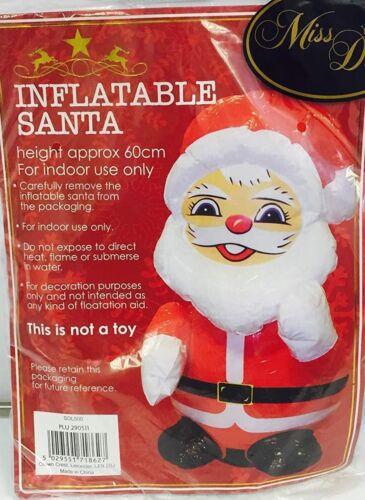 60cm Novelty Inflatable Santa