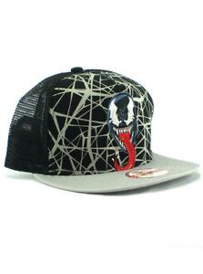 New Era Venom Symbiote 9fifty A-Frame Snapback Hat Adjustable Spider ... 2f12b942052e