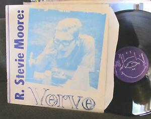 R Stevie Moore Verve Uk 1985 Ariel Pink Hamster Rare Oop