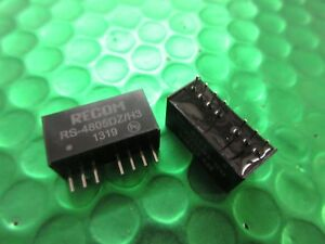 DCDC Converter 2W 1872VIN 05VOUT SIP8 RS4805DZH3 Isolated NEW PART - EASTRINGTON, East Riding of Yorkshire, United Kingdom - DCDC Converter 2W 1872VIN 05VOUT SIP8 RS4805DZH3 Isolated NEW PART - EASTRINGTON, East Riding of Yorkshire, United Kingdom