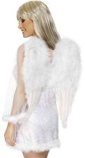 Weiße Engelsflügel 50x60cm NEU - Zubehör Accessoire Karneval Fasching