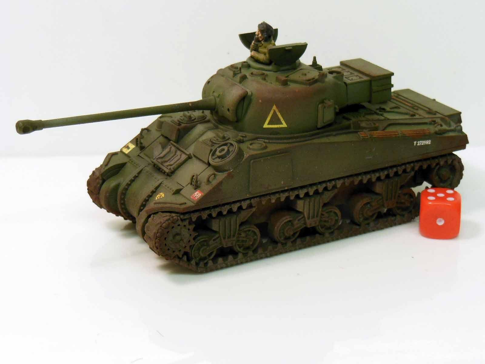 28mm Bolt Action Chain Of Command British Sherman Firefly Tank Painted  R2