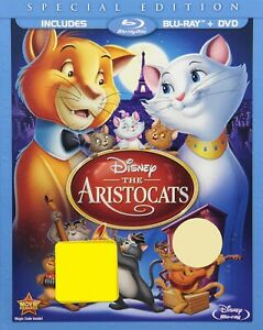 The-Aristocats-Pre-owned-Blu-ray-DVD-Special-Edition-Widescreen-Disney