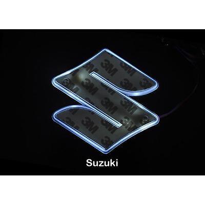 LED Car Tail Logo Auto Badge Light Blue light for Suzuki Swifi Jimmy