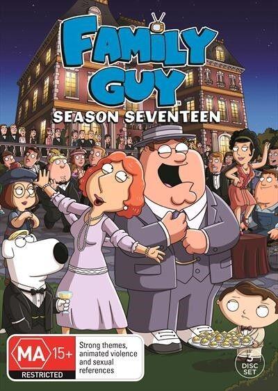 Family Guy : Season 17 : NEW DVD