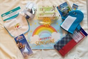Details About Welcome Home Baby Gift Bag Pre Made Shower Boy Blue