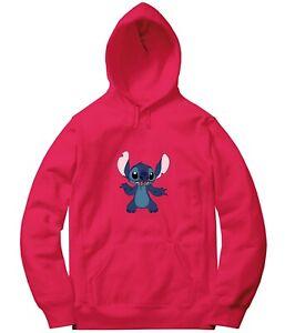 Lilo & Stitch Stitch Sport Long Sleeve Hooded Sweatshirt