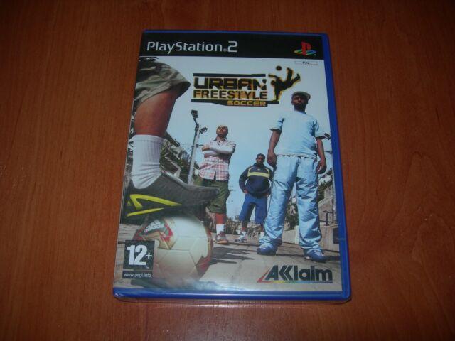 URBAN FREESTYLE SOCCER PS2 (PAL ESPAÑA PRECINTADO)