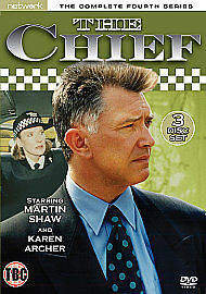 1 of 1 - The Chief - Series 4 - Complete (DVD, 2011, 3-Disc Set)