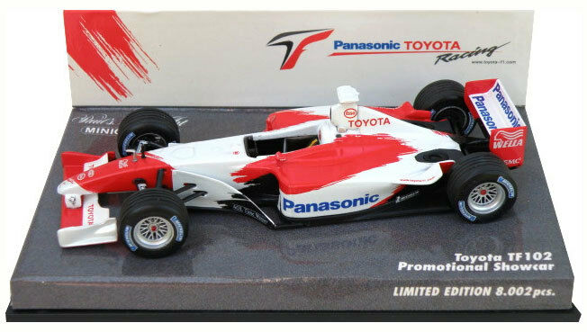 Minichamps Toyota TF102 Promotional Showcar 2002 - 1 43 Scale