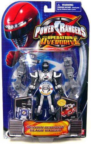 Power Rangers Operation Overdrive Mission Response BLACK RANGER Action Figure