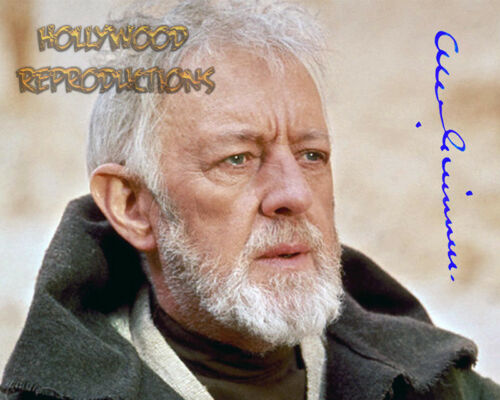 REPRINT - ALEC GUINNESS ~ Autographed signed photo 8x10 STAR WARS