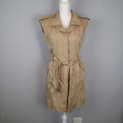 Women/'s Sleeveless Panel Flock Aztec Flare Belted Short Ladies Dress UK 8-16