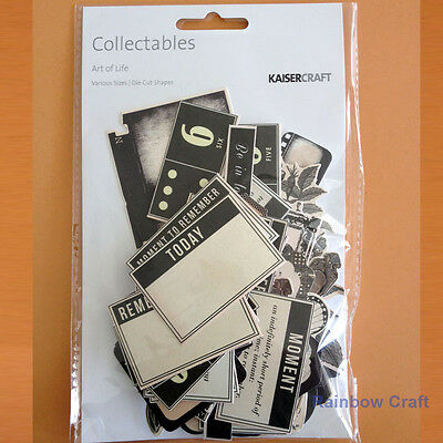 Kaisercraft Collectables / Die Cuts Collection 1 - 60 themes (U select)