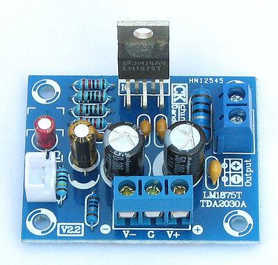 ±25V 14Hz-100kHz HIFI Mono Channel LM1875T Stereo Audio Amplifier Board  DIY Kit