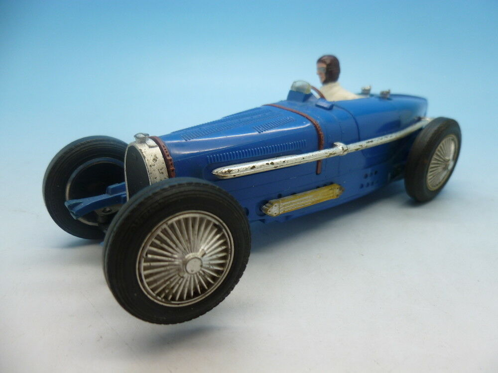 Scalextric C70 Bugatti, super rare car with box.