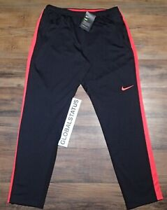 6a7af011f501 NIKE WOMENS ACADEMY KNIT BLACK SIREN RED PINK SOCCER PANTS 859513 ...