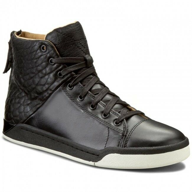 New Diesel Mens Black Emerald Sneakers 275