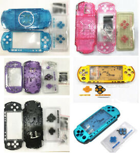 Full-Housing-Shell-Case-Faceplate-Case-Repair-Parts-For-PSP-3000-PSP3000-Console