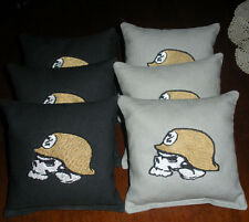 8 Embroidered Metal Mulisha Cornhole Bags! Eight Quality Bags! Baggo too! Sweet!