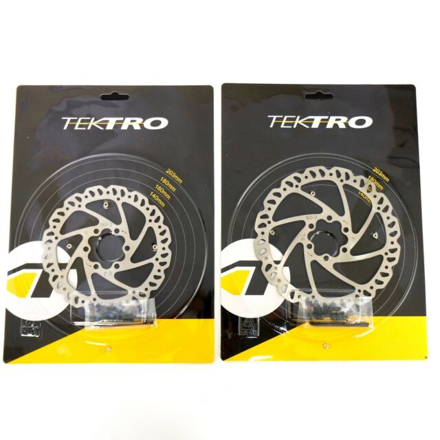 New Take Offs Free Shipping Tektro 6-Bolt Disc Brake Rotor 160mm