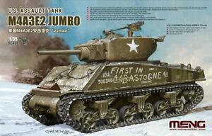 Meng-1-35-Scale-US-Assault-Tank-M4A3E2-Sherman-Jumbo-Plastic-Model-Kit-TS-045
