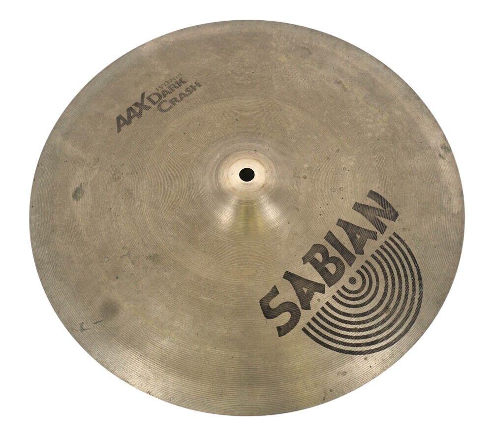 """Sabian AAX 15"""" Dark Crash Cymbal"""