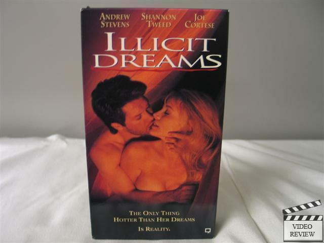 Illicit Dreams (Unrated) VHS Andrew Stevens, Shanon Tweed, Joe Cortese