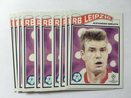 Topps Living Set UEFA Champions League 1x #233 Alexander Sorloth RB Leipzig