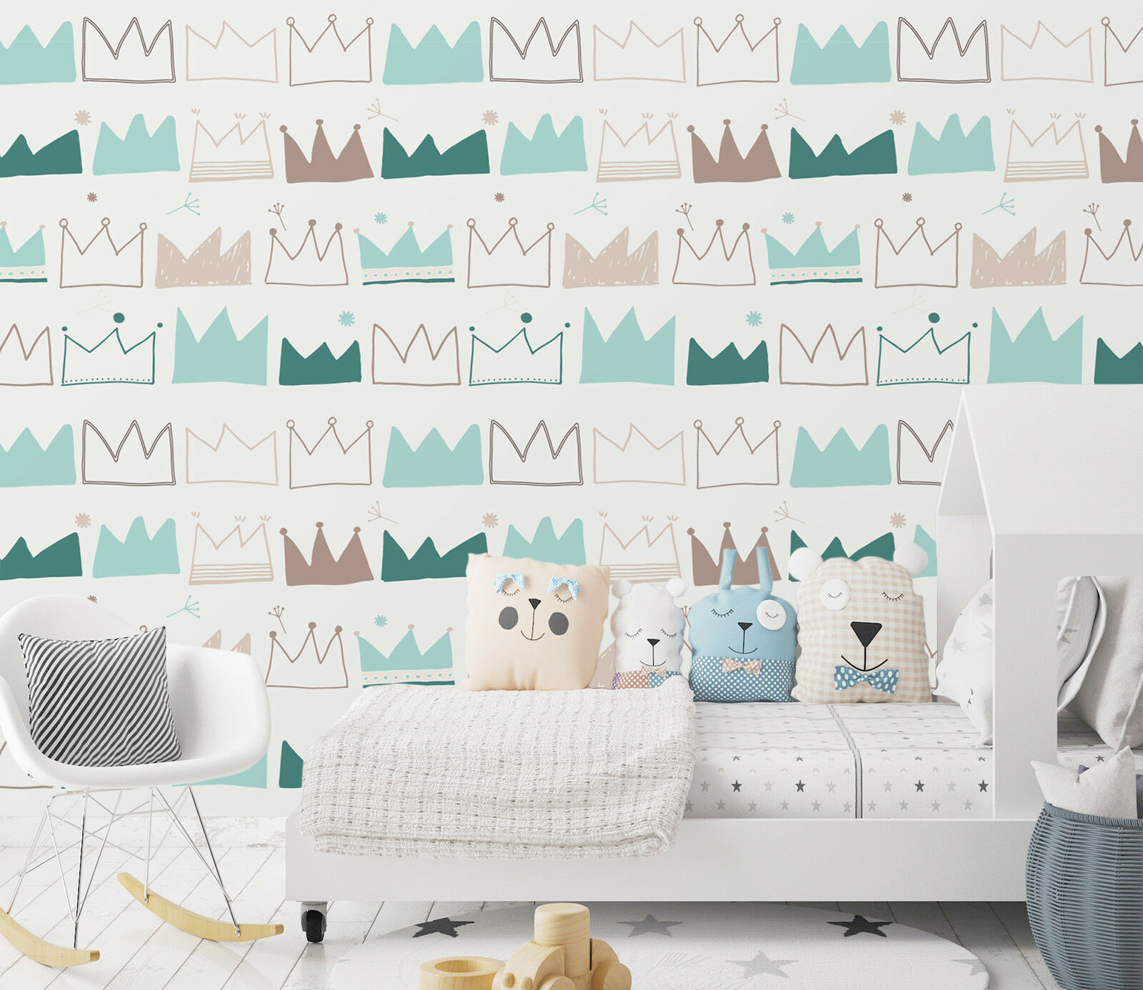 3D Hand Painted Crown 22 Wallpaper Mural Wall Print Decal Indoor Murals AU Lemon